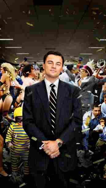 Leonardo DiCaprio en una imagen promocional de la película 'The Wolf of Wall Street'