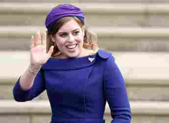 Princess Beatrice Pays Special Visit To Huddersfield Patronage