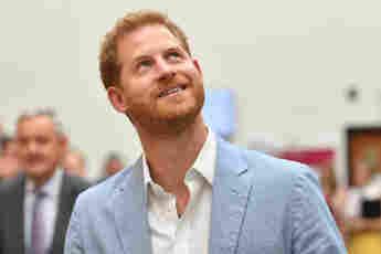 El príncipe Harry