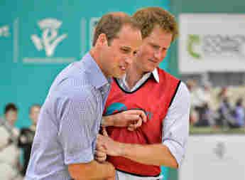 El príncipe William y el príncipe Harry