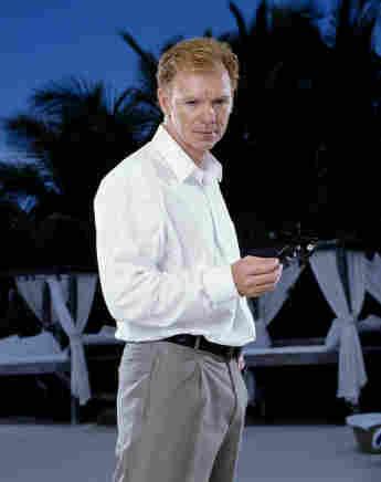 David Caruso en una imagen promocional de la serie 'CSI: Miami'