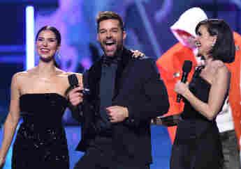 Ricky Martin, Roselyn Sánchez and Paz Vega