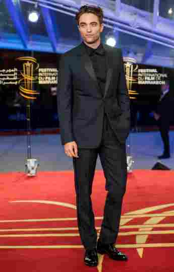 Robert Pattinson on the red carpet