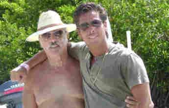 Andrés García y Roberto Palazuelos