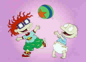 Promocional de la caricatura 'Rugrats'