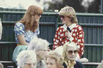 Sarah Ferguson and Princess Diana in 1983