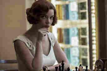 Anya Taylor-Joy en una escena de la serie 'Gambito de dama'