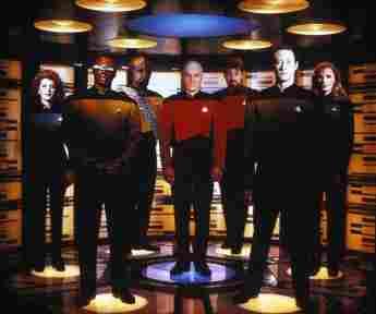"The cast of ""Star Trek: The Next Generation"""
