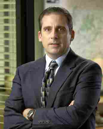 Steve Carell como Michael Scott en la primera temporada de 'The Office'