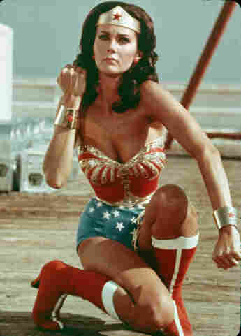 """Lynda Carter as """"Wonder Woman"""" from 1975 to 1979"""