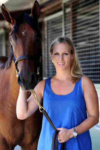 Zara Phillips poses for a photo at the Magic Millions Sales Complex on January 9, 2013 on the Gold Coast, Australia.