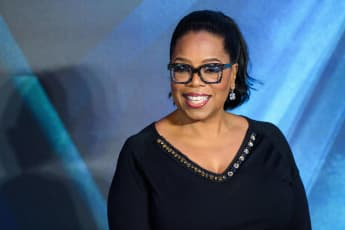 """Oprah Winfrey at the London premiere of """"A Wrinkle In Time"""" in 2018."""