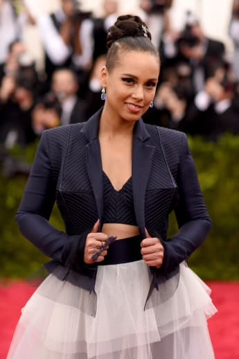"Alicia Keys attends the ""China: Through The Looking Glass"" Costume Institute Benefit Gala."