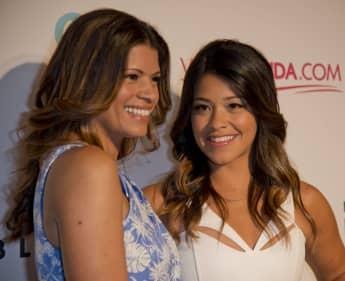 Andrea Navedo and Gina Rodriguez