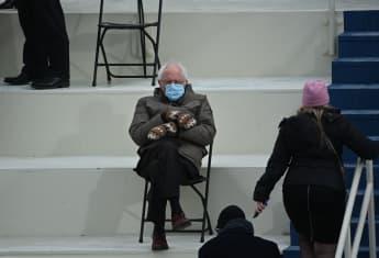 Bernie Sanders On Inauguration Picture Memes