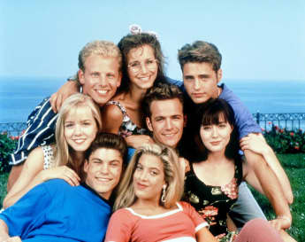'Beverly Hills, 90210' cast 1992