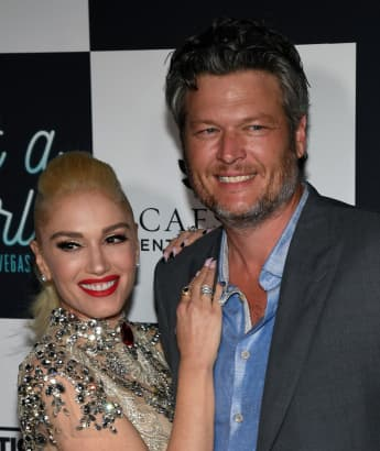 "Blake Shelton Says That He And Gwen Stefani ""Look On Paper Like An Unlikely Match"""
