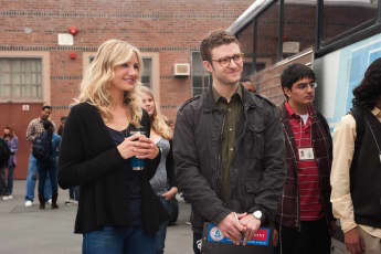 """Cameron Diaz and Justin Timberlake starred together in """"Bad Teacher"""""""