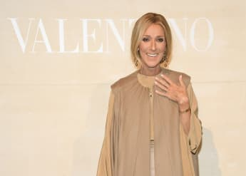 Céline Dion Shares Rare New Family Photo For Mother's Day 2021 picture portrait husband boys age