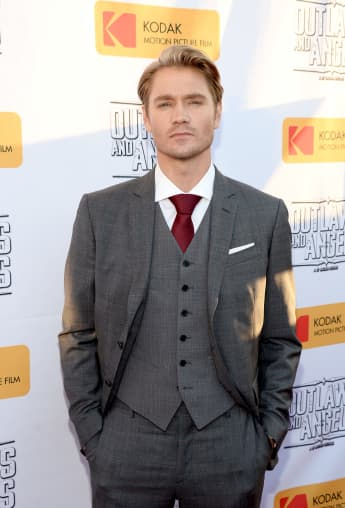 """Chad Michael Murray attends the premiere of Momentum Pictures' """"Outlaws And Angels""""."""
