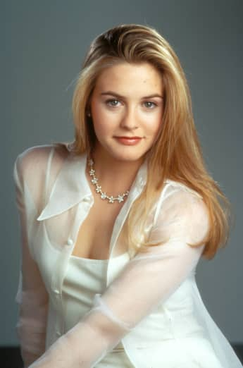 Alicia Silverstone from Clueless
