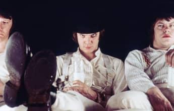 'A Clockwork Orange' directed by Stanley Kubrick, 1971