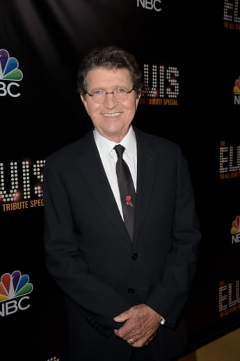 Mac Davis appears backstage during The Elvis '68 All-Star Tribute Special at Universal Studios on October 11, 2018