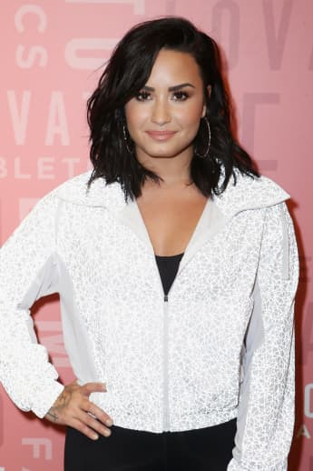 "Demi Lovato Is ""Reprogramming"" Her Body Image With Help From Fiancé Max Ehrich"