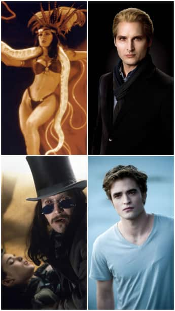 The hottest movie vampires of all time