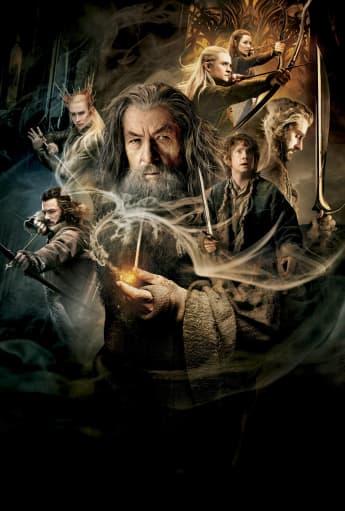 Póster de la película 'El Hobbit'