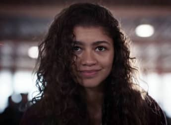 Zendaya in a scene from the series 'Euphoria'