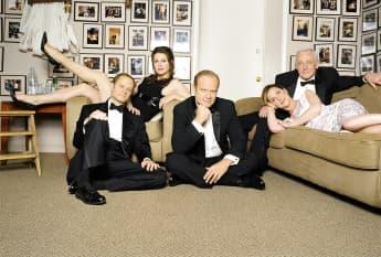 The cast from 'Frasier' in 2001