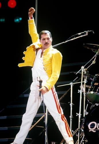 Freddie Mercury, Queen,