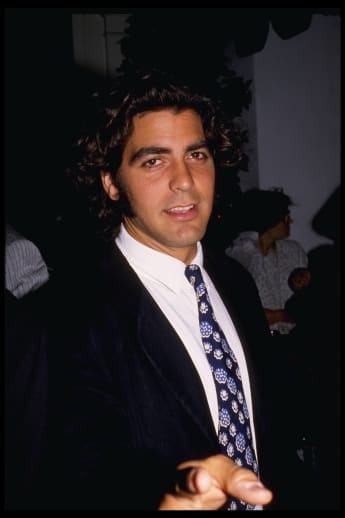 George Clooney in 1989