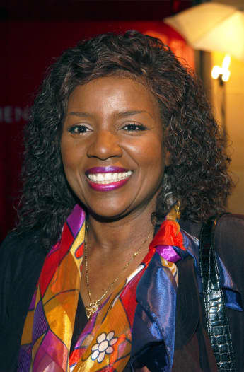 Gloria Gaynor arrives for the launch of the new Language Shop at Henri Bendel, featuring the Breathe the Stars Summer 2002 Collection by Ana Abdul May 15, 2002 in New York City.