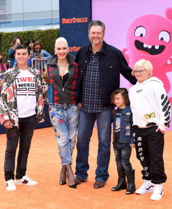 Gwen Stefani Thanks Blake Shelton For Help Raising Her 3 Sons In Touching Father's Day Tribute