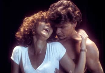 Jennifer Grey y Patrick Swayze en una escena de 'Dirty Dancing'