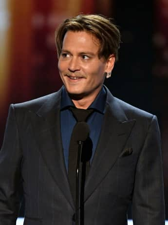 Johnny Depp en los People's Choice Awards