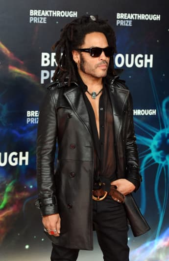 Lenny Kravitz Made His Daughter Zoë Cry During His Speech At Her Wedding