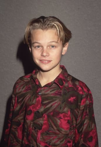 Leonardo DiCaprio joven