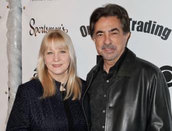 """Criminal Minds: """"David Rossi"""" actor Joe Mantegna with wife Arlene Vrehl."""