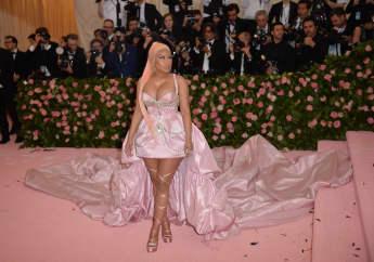 Nicki Minaj arriving at the 2019 Met Gala Celebrating Camp: Notes On Fashion at The Metropolitan Museum of Art on May 6, 2019 in New York City