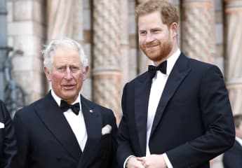 "Prince Charles ""Looking Forward"" To Seeing Prince Harry Again Prince Philip funeral death 2021 royal family news"