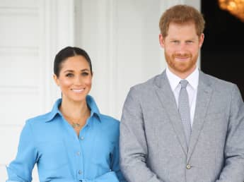 Prince Harry & Meghan Markle's Message After Baby News announcement name Lilibet Diana Mountbatten Windsor Queen Princess Archewell