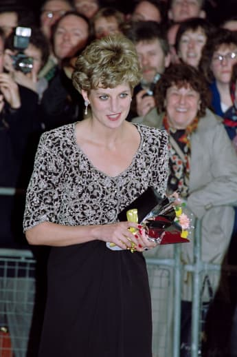Princess Diana in 1992