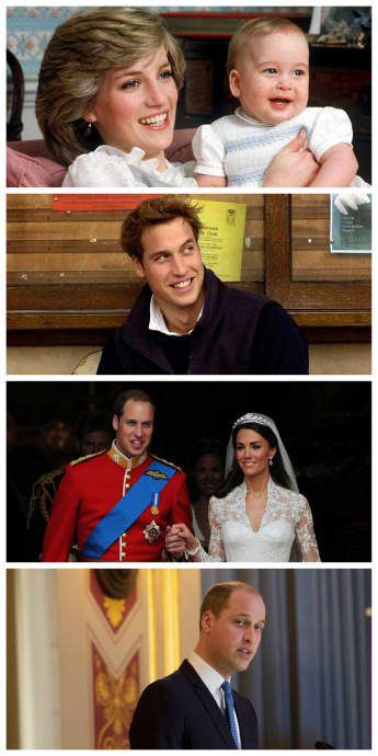 Prince William News: Through the years with the Duke of Cambridge.