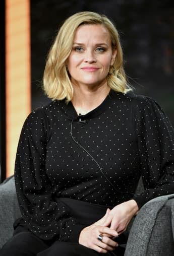 Reese Witherspoon Celebrates 'The Morning Show' Resuming!
