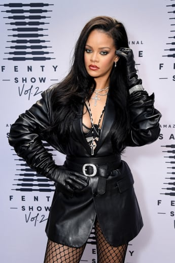 Rihanna attends Rihanna's Savage X Fenty Show Vol. 2 presented by Amazon Prime Video.