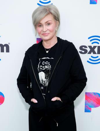 Sharon Osbourne visits the SiriusXM Hollywood Studio.