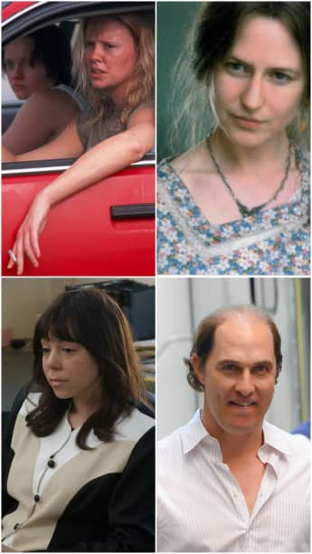Hot celebs who played ugly characters